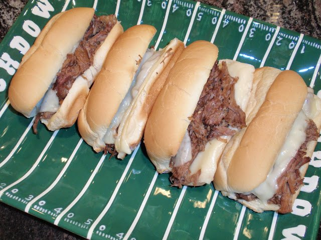 Toasted Italian Beef Sandwiches