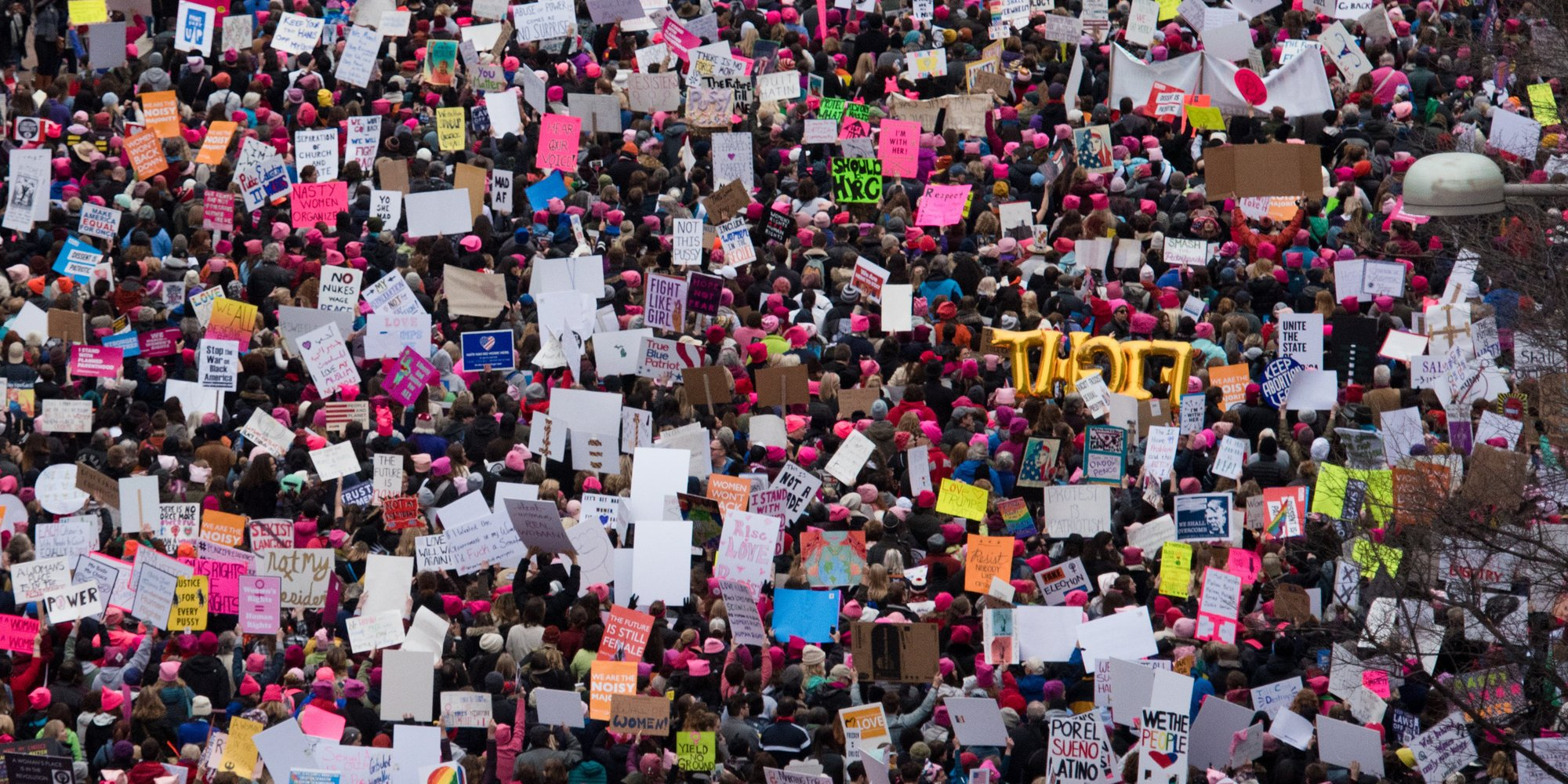 Experimental single made completely from Women's March recordings will give you goosebumps https://t.co/Lhb6YRs2Bk https://t.co/P0wt9umIDd