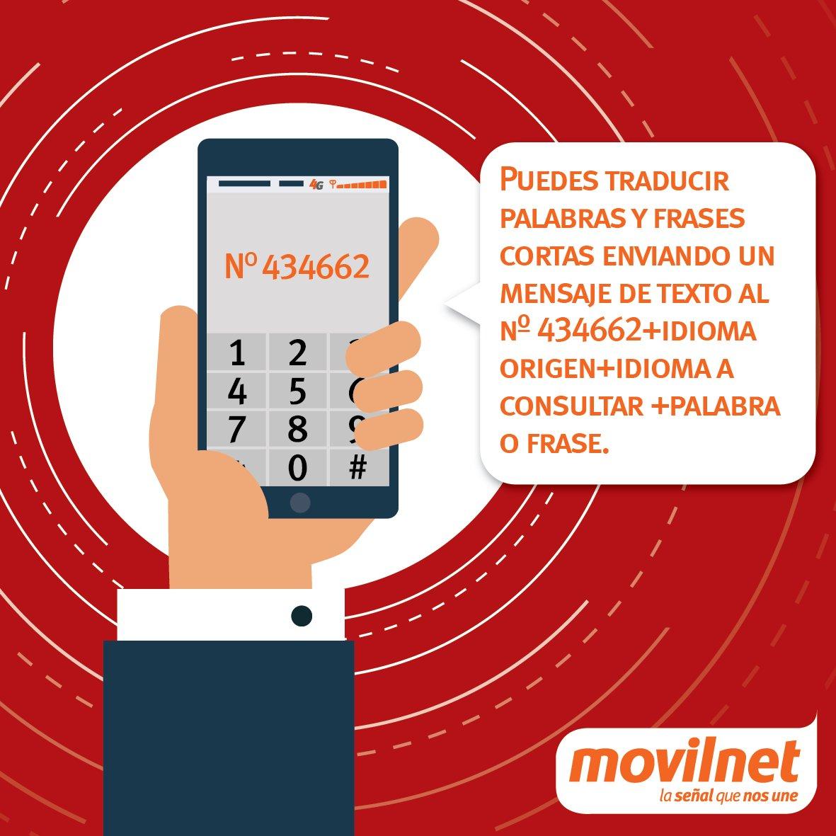 Somos Movilnet On Twitter Puedes Traducir Palabras Y
