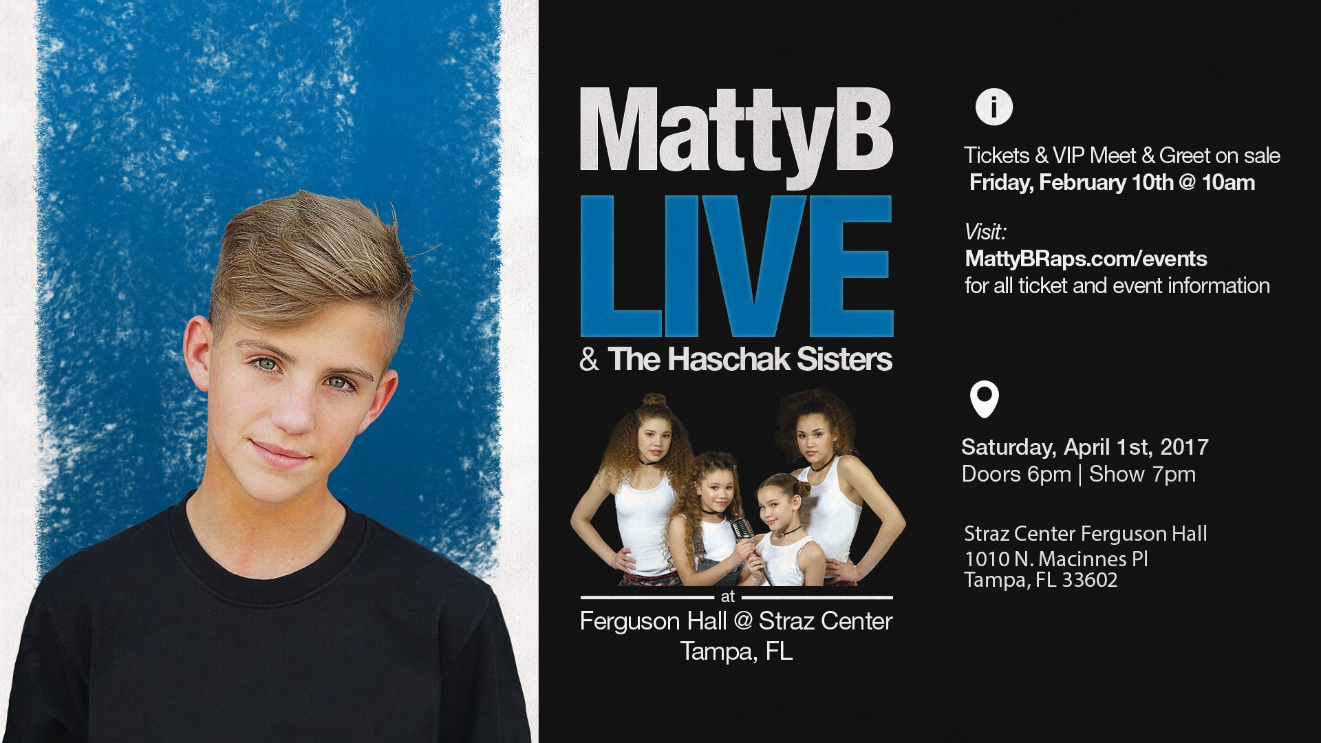 """MattyBRaps on Twitter """"Excited to announce I am ing to Tampa"""