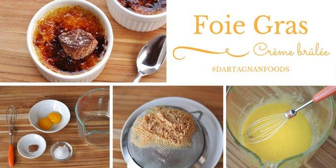 Savory & Sweet: Foie Gras Crème Brûlée Recipe
