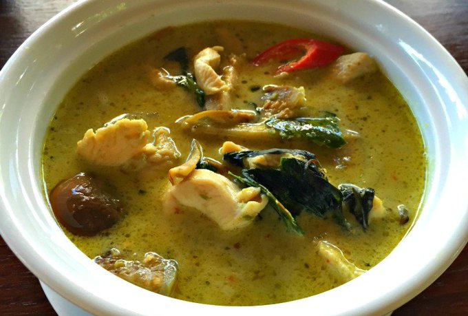 Thai Green Chicken Curry and Fresh Green Curry Paste