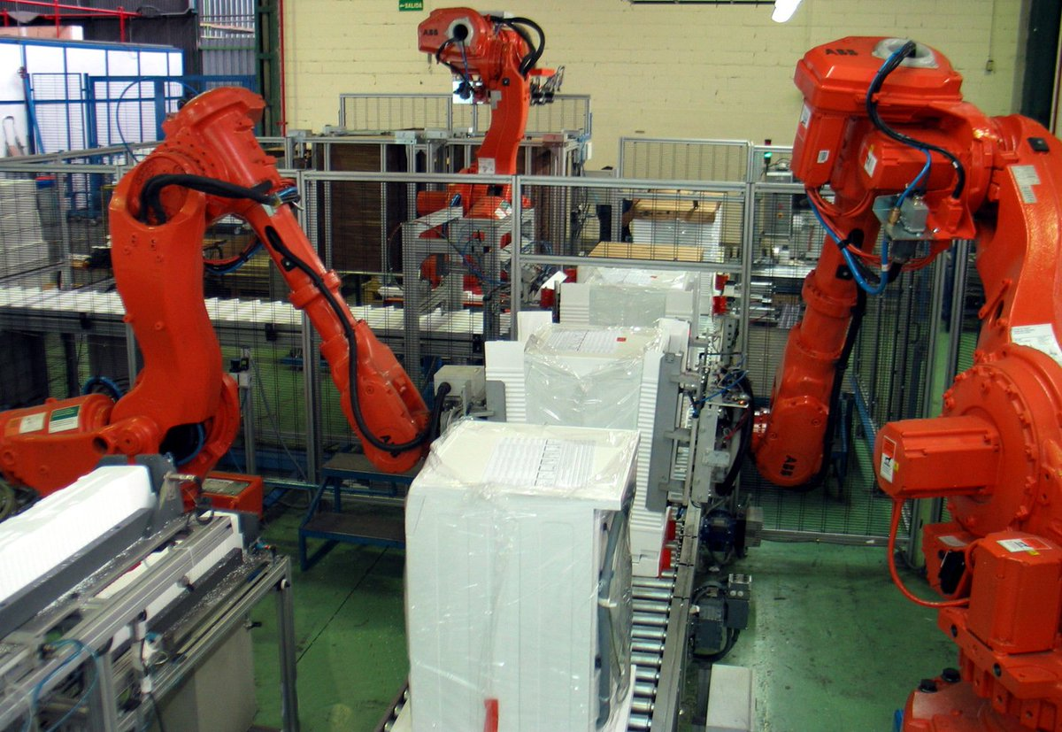 A Chinese factory replaced 90% of workers with robots and saw 250% productivity increase and 80% decrease in defects.