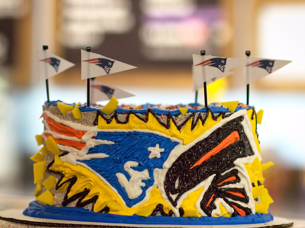 Ben Jerrys Boston On Twitter We Think The Patriots Will Take Cake Sunday Last Day To Order Your SuperBowl Cakes