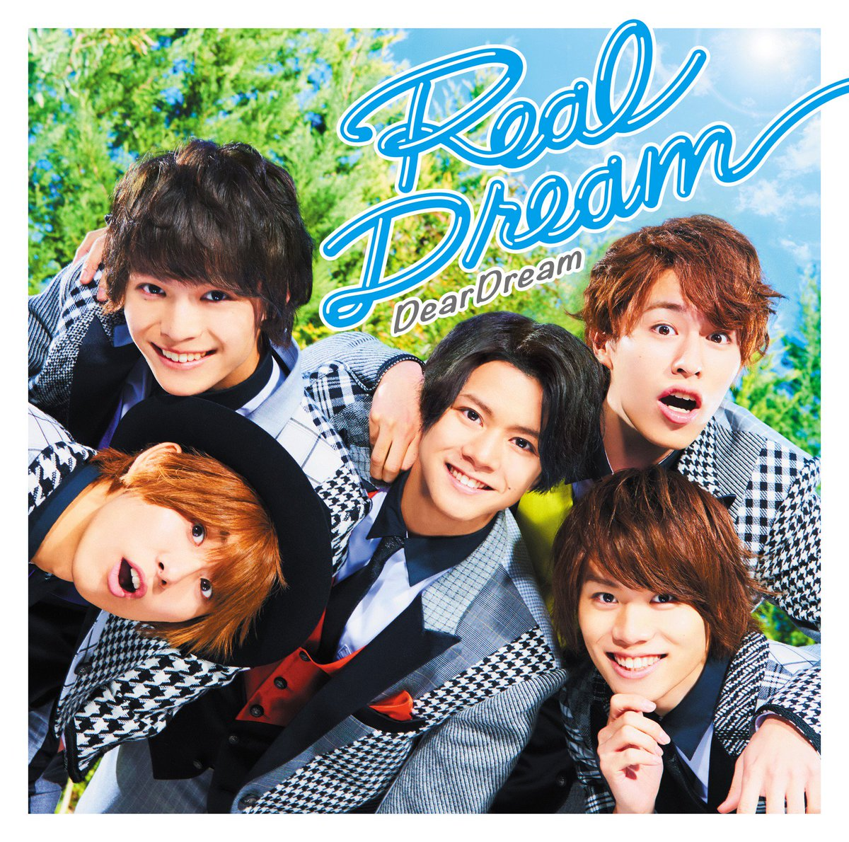 【CD】2月22日発売!DearDream 1stアルバム「Real Dream」ジャケ写&アナザー…