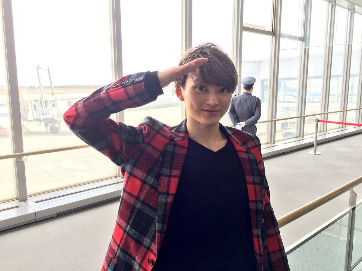 全国を駆け回りますよー!! 続いて札幌へ飛び立ちます!(o˘◡︎˘o)♪︎  #ユーキ弾丸ロケ