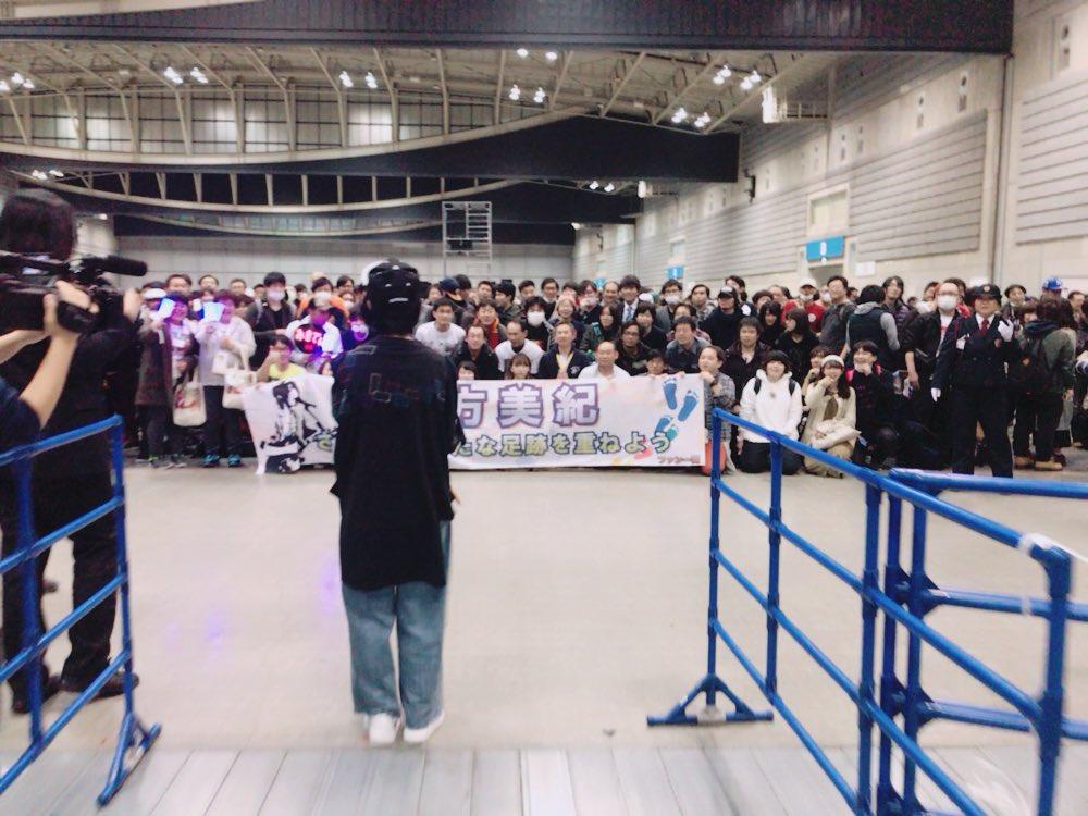 大好きなみきてぃの東京最後の握手会でした😭 私にとって何よりも大切な同期、三期が初めて握手会した日を…