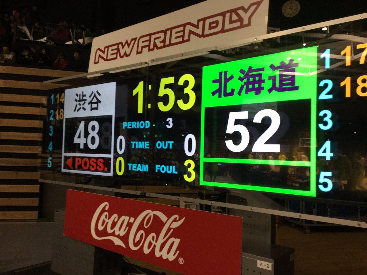 02/04(土) HOME GAME 第19節  vsサンロッカーズ渋谷  【3Q END】  #レ…