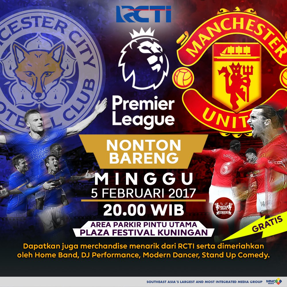 Epl Matches Live On Rcti Indonesia Tv Channel: EPL Matches Live On RCTI Indonesia Tv Channel