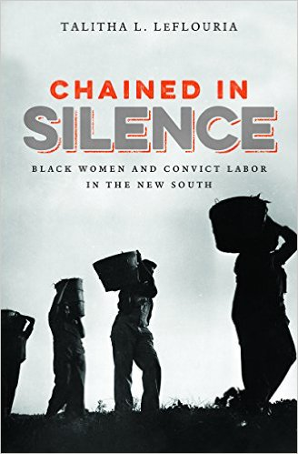 Chained in Silence: Black Women and Convict Labor in the New South (Justice, Power and Politics) #BlackTwitter reads  http:// amzn.to/2kK4hWN  &nbsp;  <br>http://pic.twitter.com/KsOquiuFgc