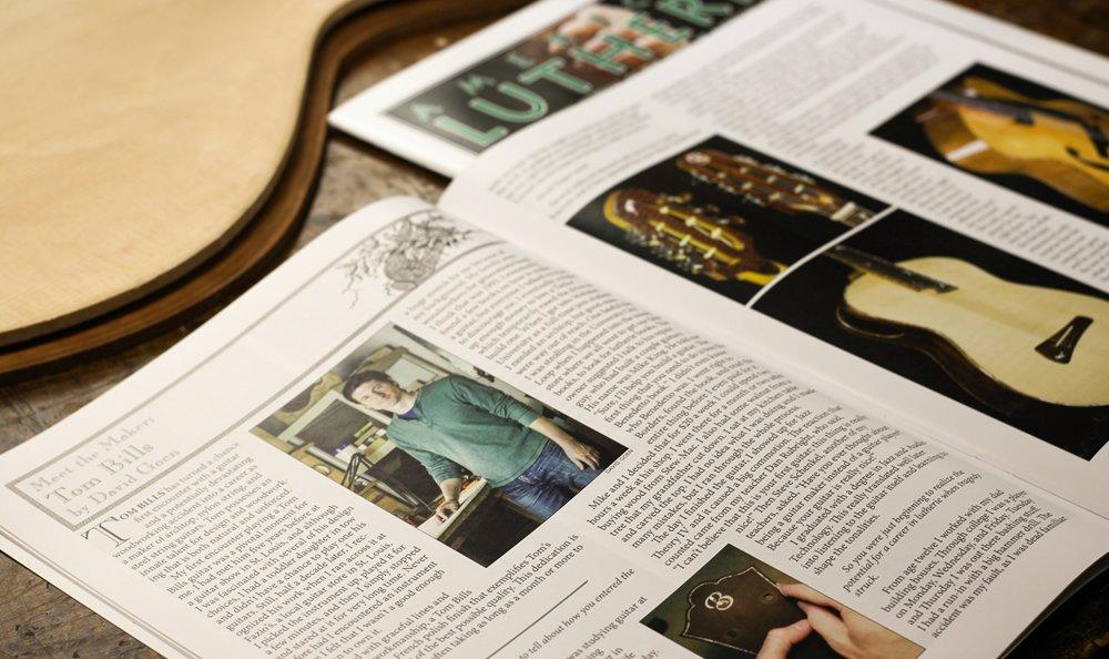 Meet The Maker - Tom Bills: The Guild Of American Lutherie Magazine  http:// bit.ly/1rgSMKk  &nbsp;   #luthier <br>http://pic.twitter.com/30AzdkEhLm