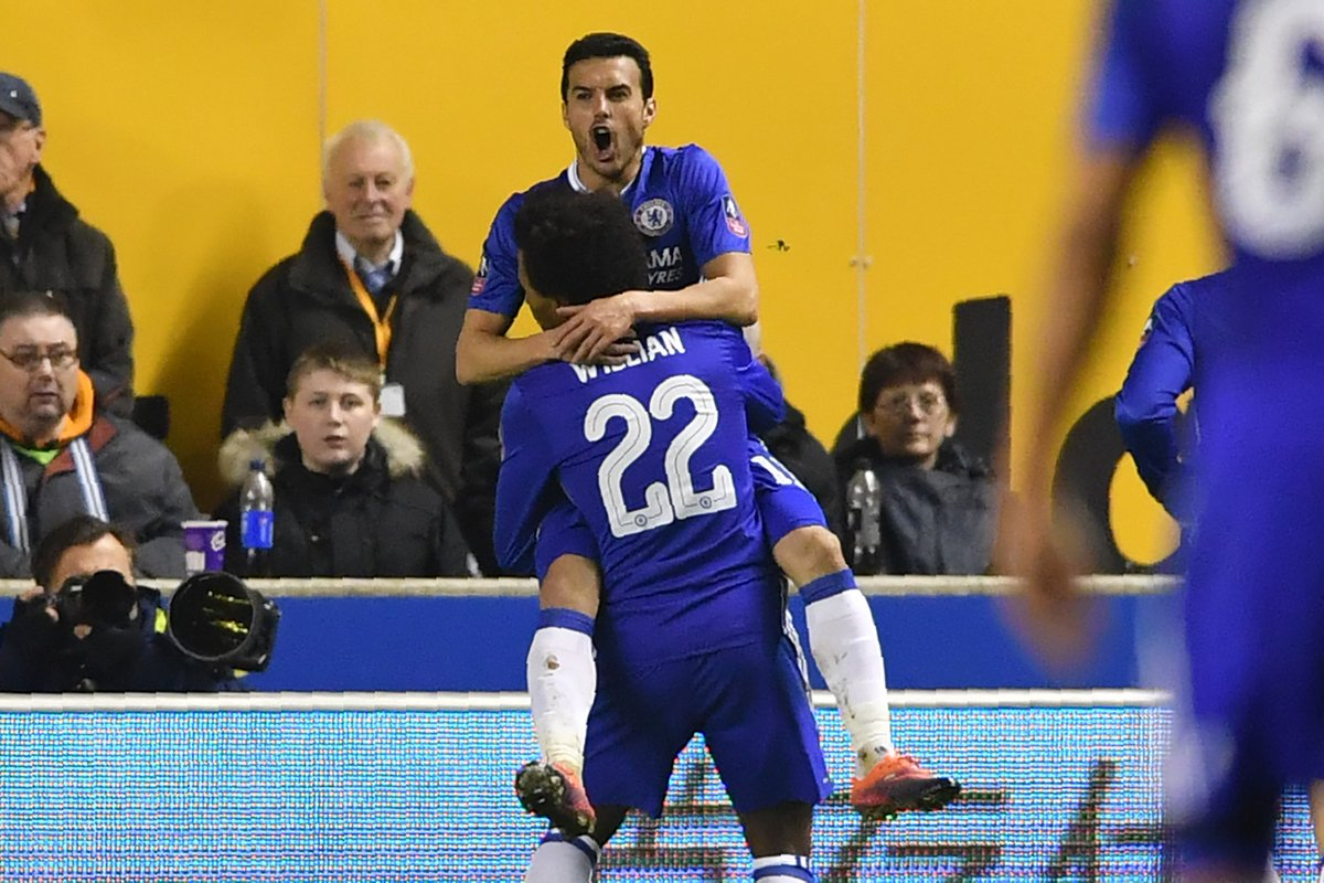 Full-time: Wolves 0-2 Chelsea!   The Blues progress to the FA Cup quar...