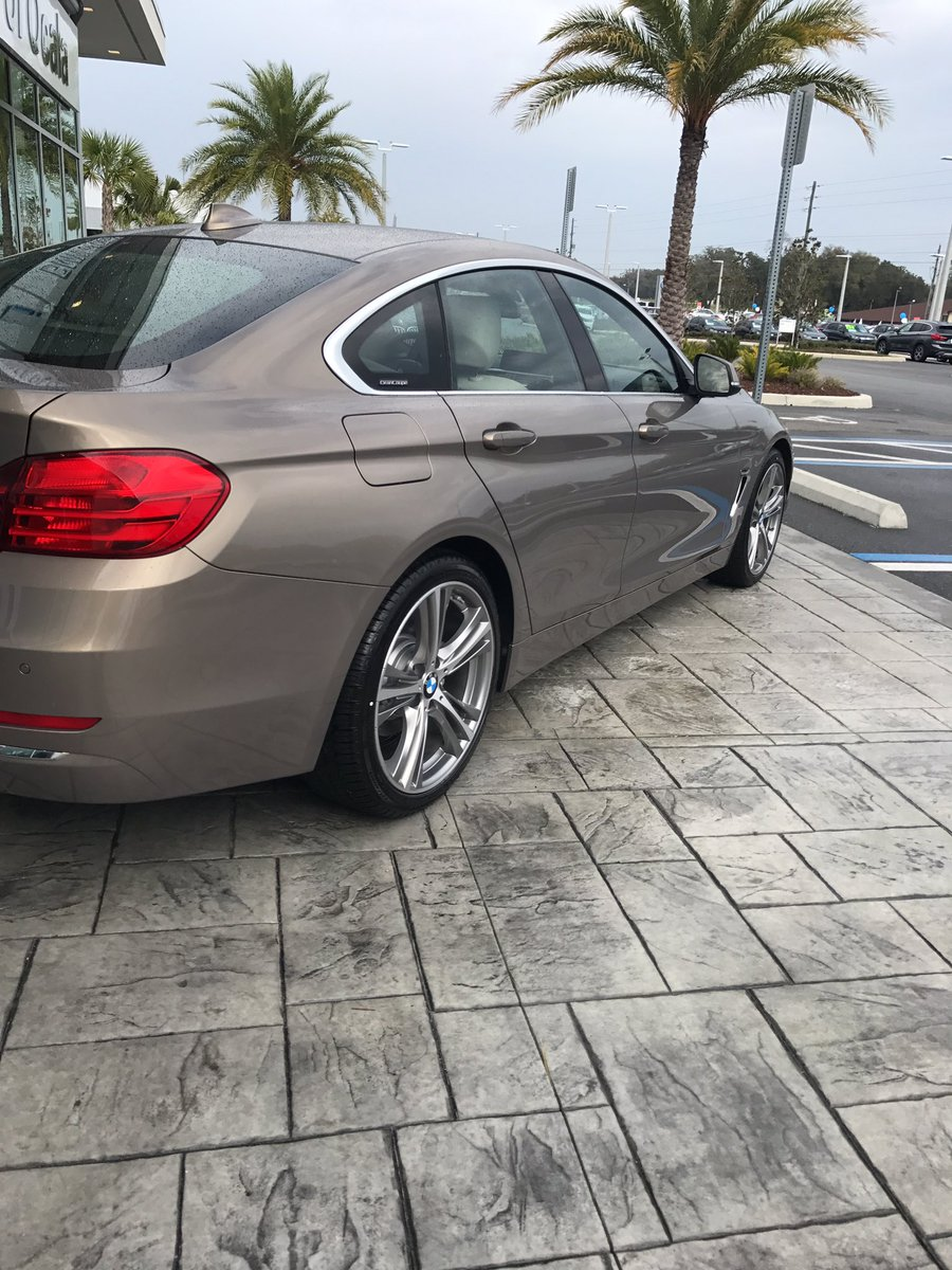 MattBMW On Twitter New 2017 BMW 430i Gran Coupe Kalahari Beige