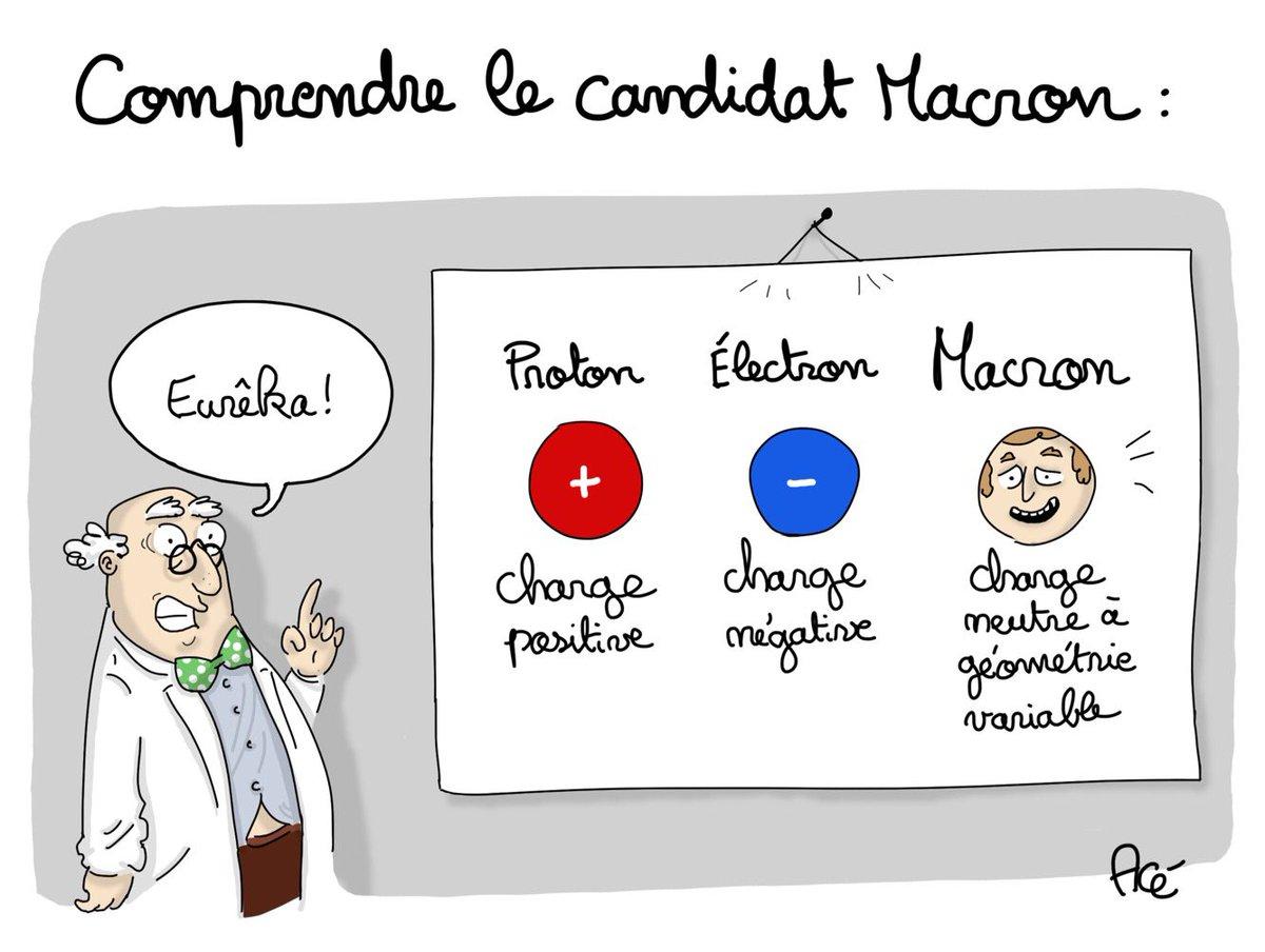 Cherchez plus pour #Macron...  j&#39;ai l&#39;explication #enmarche #mariagepourtous #ManifPourTous #politique #dessin #LEmissionPolitique<br>http://pic.twitter.com/N86w8Eg8I8