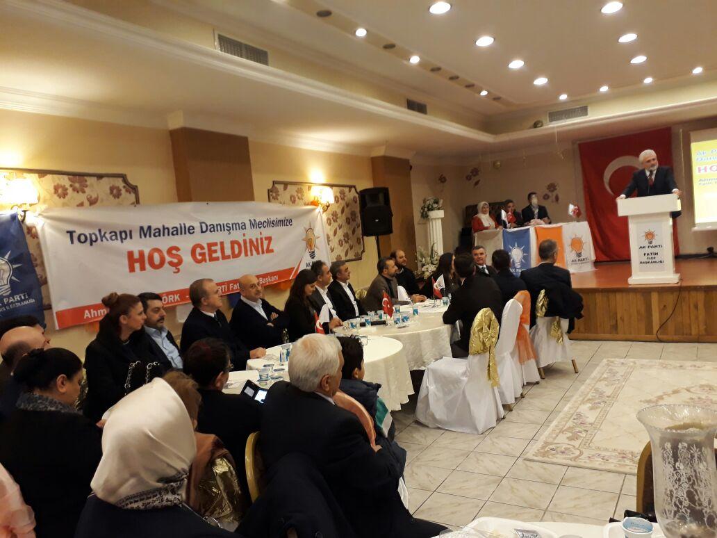 #AkGençFatih olarak Topkapı mahallesi referandum gündemli danışma mecl...