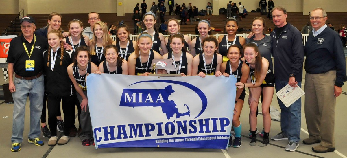 FHS girls indoor track take 2nd at D1 meet