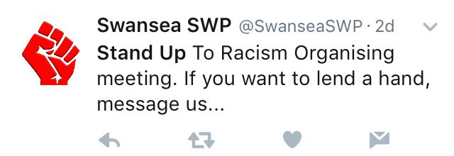 Stand Up To Racism definitely isn't an SWP front is it? https://t.co/SRaZdc1Mnp