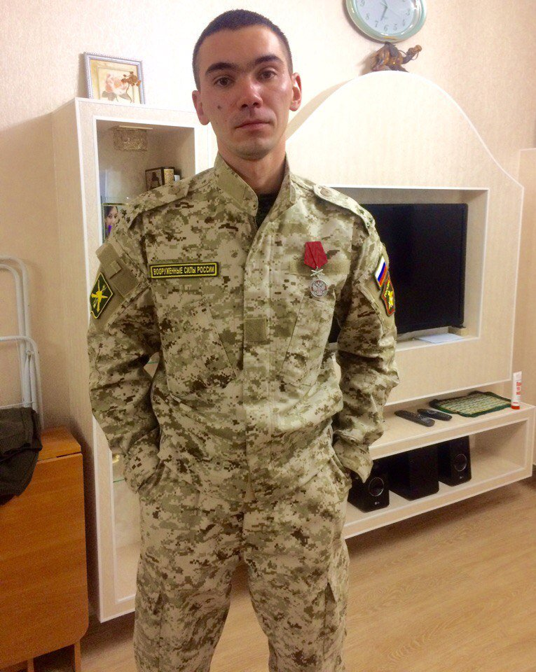 #Syria: #Russia|n soldier Magamurov Vadim Nazifovich survived Eastern #Ukraine, but was killed in #Syria, probably by #ISIS.<br>http://pic.twitter.com/pXo27ZBhaA
