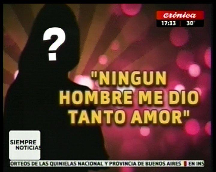 #SiempreNoticias | #QuienDijo  'Ningún hombre me dio tanto amor' https...