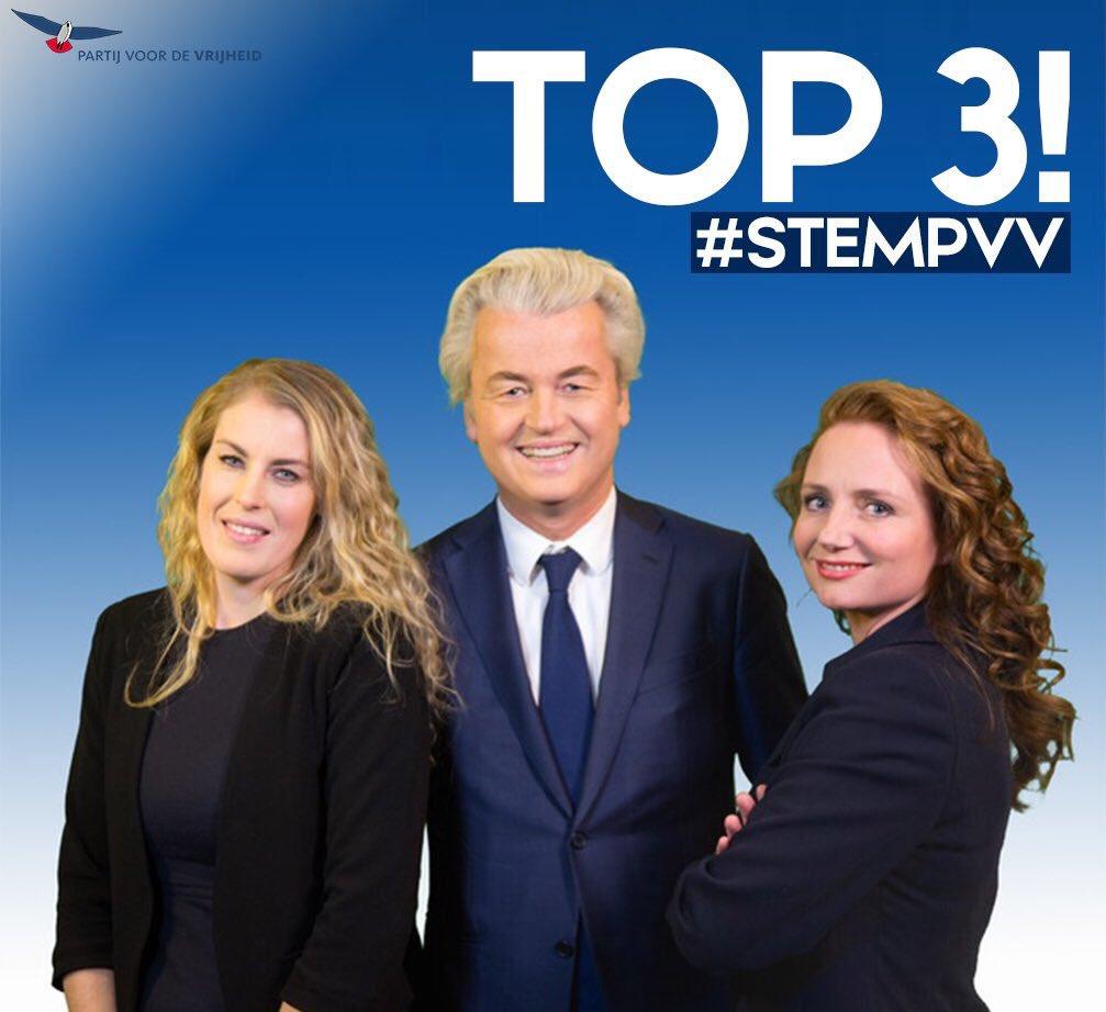 15 Maart Stem PVV