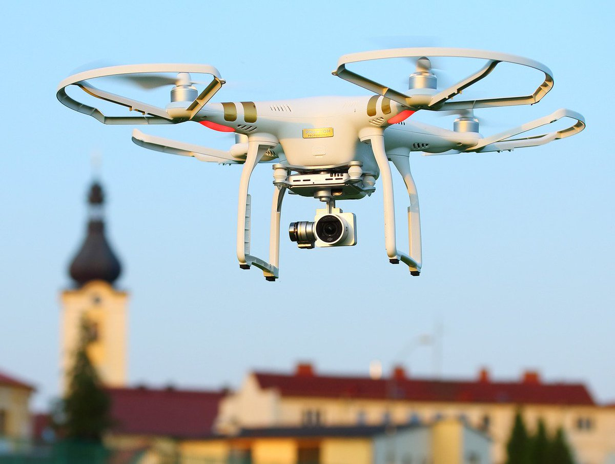 Smart cities will soon buzz with drones prone to hacking, conflicts