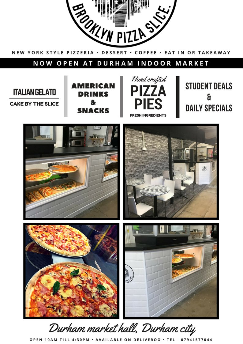 Brooklyn Pizza Slice On Twitter Seating Area Seats Market Pizza
