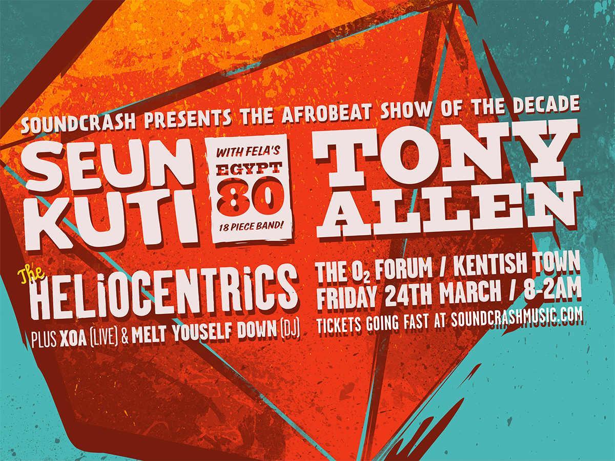 It&#39;s the #Afrobeat Event of the Decade feat #SeunKuti &amp; #Tony Allen plus @Heliocentrics_ @XoaMusic &amp; @MeltYrselfDown  http:// bit.ly/afrobeatdecade  &nbsp;  <br>http://pic.twitter.com/JM1WXlymX7