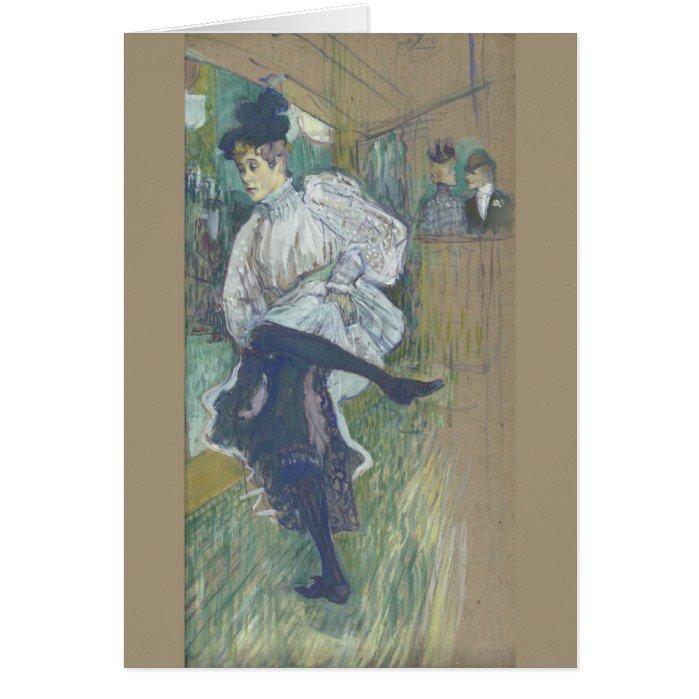 Jane Avril Dancing Henri de Toulouse-Lautrec Greeting #Cards   http://www. zazzle.com/jane_avril_dan cing_by_henri_de_toulouse_lautrec_card-137334821918175806?rf=238581041916875857 &nbsp; … <br>http://pic.twitter.com/lc97hY6mkm