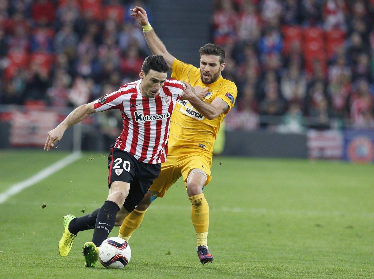 Sólo el Athletic cumple en casa aunque tendra que sufrir en Nicosia. El Celta cae 0-1 y el Villarreal 0-4.