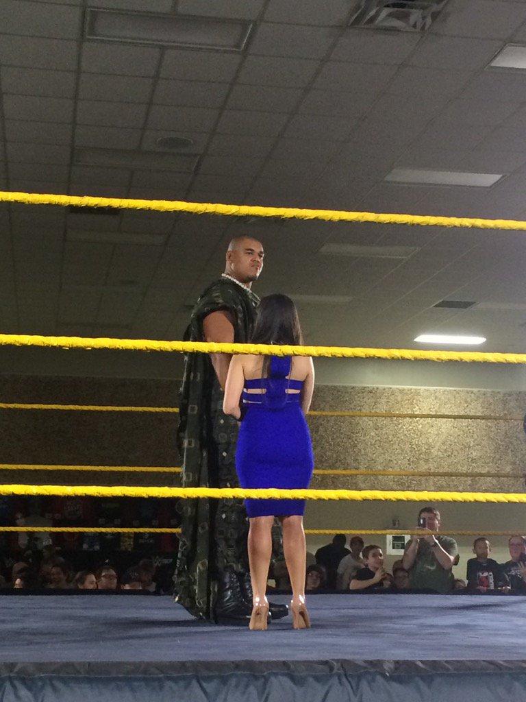 عملاق جديد يعاود الإنطلاق في حلبات NXT (صور)