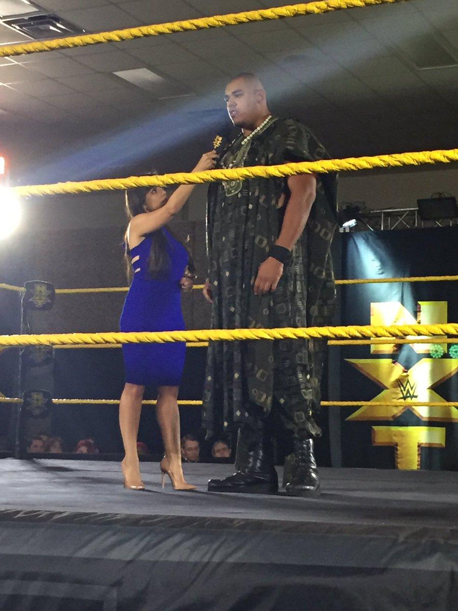 عملاق جديد يعاود الإنطلاق في حلبات NXT (صور)  عملاق جديد يعاود الإنطلاق في حلبات NXT (صور)