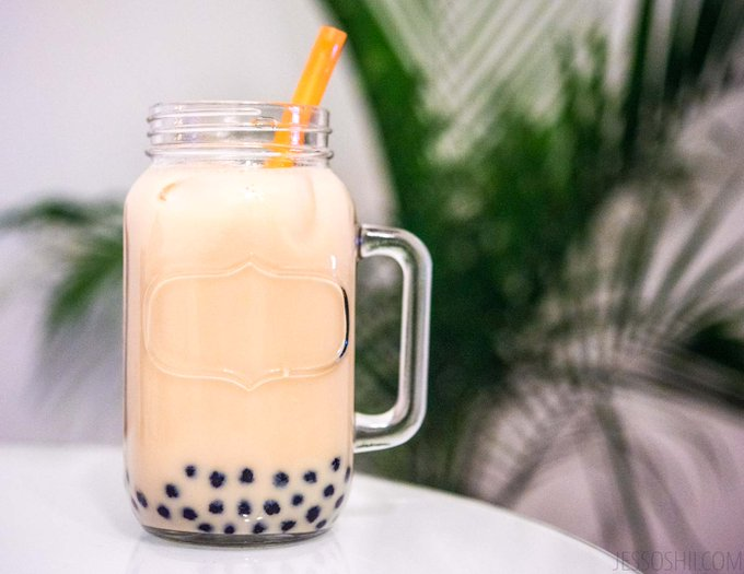 DIY Bubble Milk Tea