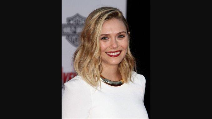 Happy Birthday to Elizabeth Olsen! Scarlet Witch for :)