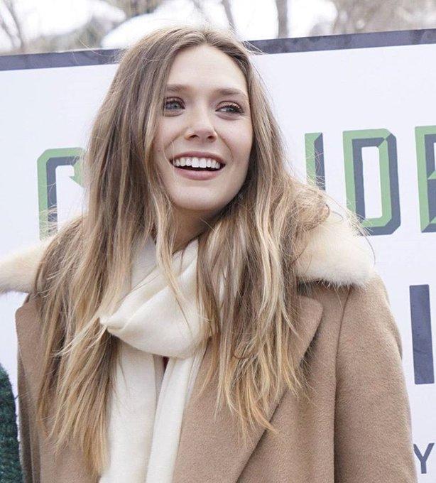 Happy birthday to the beauty that is elizabeth olsen