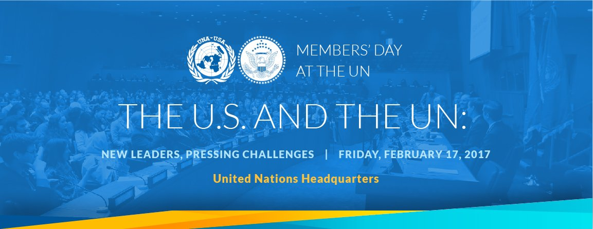 Friday: #UNAatUN Members' Day in NYC. Follow @UNAUSA & see:  https://t.co/VpI106aGCB https://t.co/RDmPIoBDND