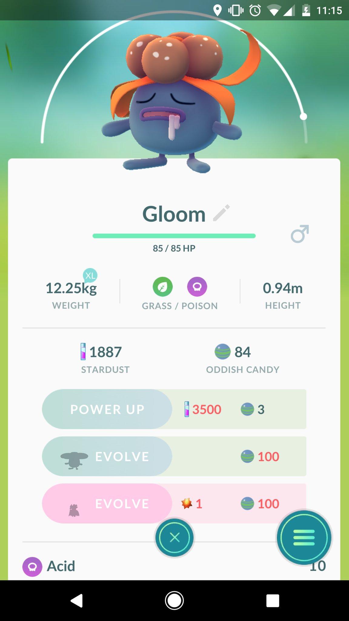 Como evoluir Gloom em Bellossom C40qP6aWAAETmBA