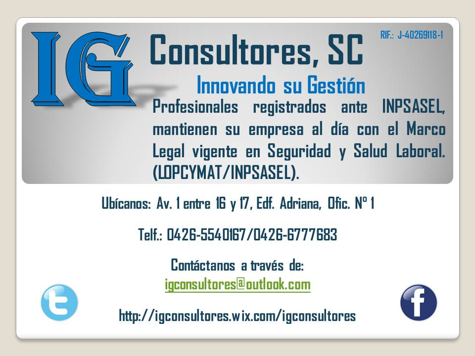 IG Consultores, SC (@IGConsultoresSC)   Twitter