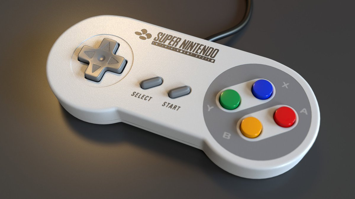 gamepad supernintendo