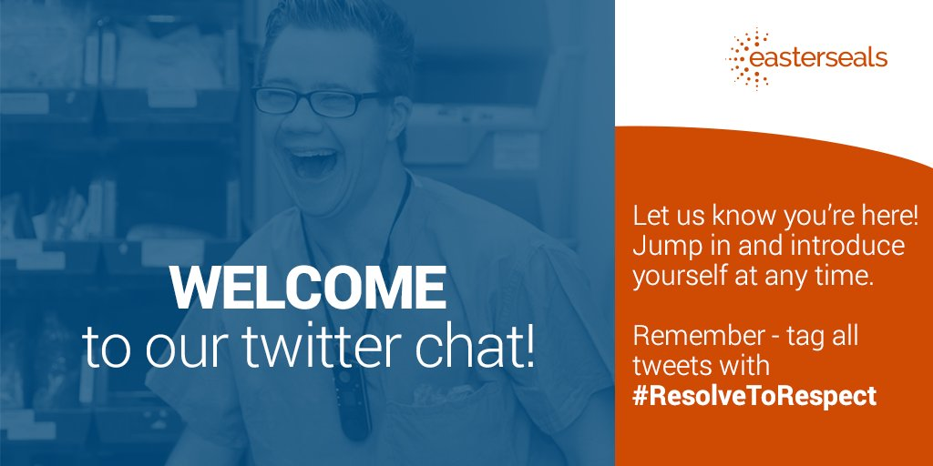Welcome to the #ResolveToRespect chat! Thanks for joining! https://t.co/cJYrieAsD1