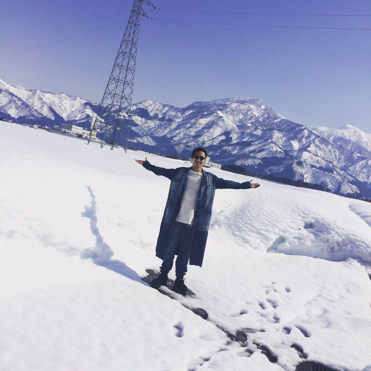 ここは雪国☃新潟🤗✨✨