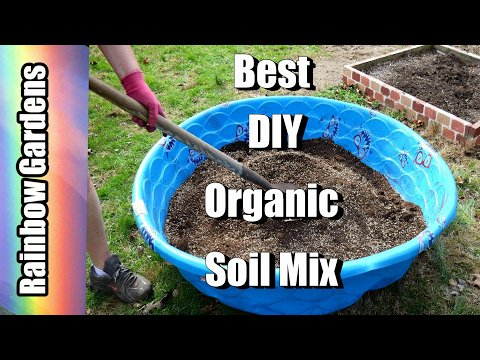 DIY The Best Organic Soil Mix
