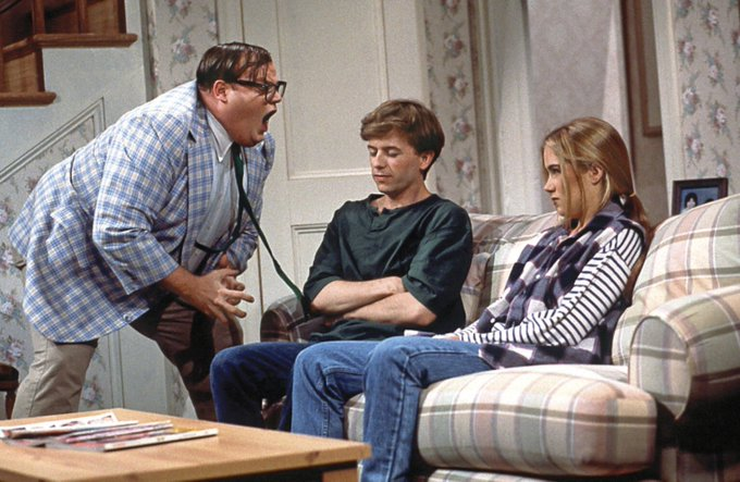 Happy Birthday Chris Farley. He would have been 53 today. You are SO missed, and still making everyone smile.