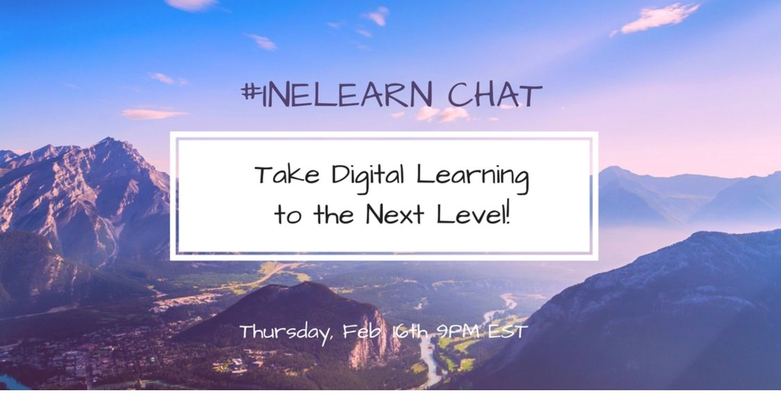 Thumbnail for #INeLearn Chat 2/16/17