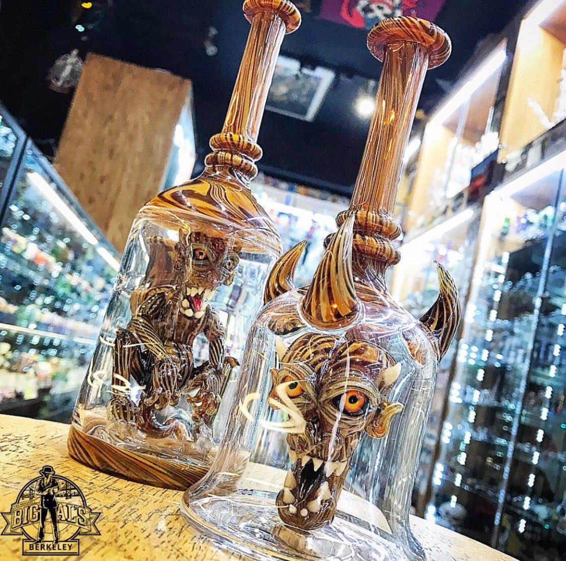 Woody ina bottle by @kalebfolckglass #woody #wood #fresh #genieinabottle #devil #demon #sick #headyglass #headshop #berkeley #bayarea<br>http://pic.twitter.com/olLTmGiTnc