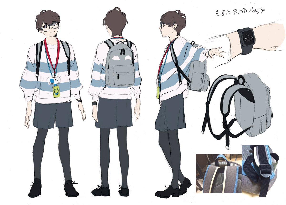 今イベントで初登場となる新人ライター信夫(しのぶ)のキャラクター原案である片桐いくみ先生が描かれたキ…