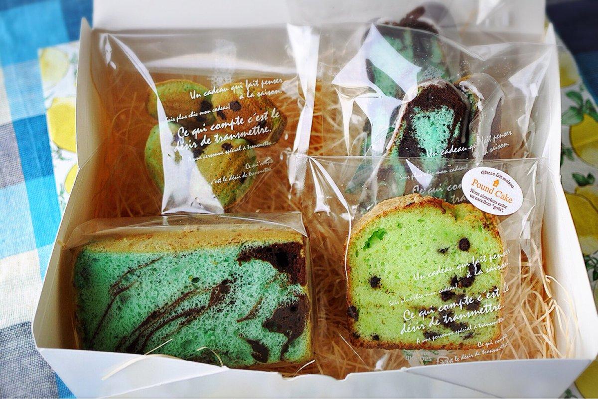 近頃チョコミントの焼き菓子がとても人気です。 通販の準備をすすめています( ´ ▽ ` )ノ