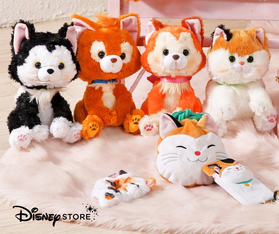 """もうすぐ 2月22日は、#ディズニーマリーの日 ♪ ディズニーキャラクターのかわいい""""ネコ""""たちが #ディズニーストア  に大集合!http://dis.eng.mg/b8d6a #猫 #猫 ..."""