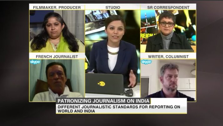 Are American or European media guilty of patronising journalism on India? Watch this #Gravitas edition:  http:// youtu.be/H2qzD3a1gt0  &nbsp;   @WIONews<br>http://pic.twitter.com/rp2sfiS1xQ