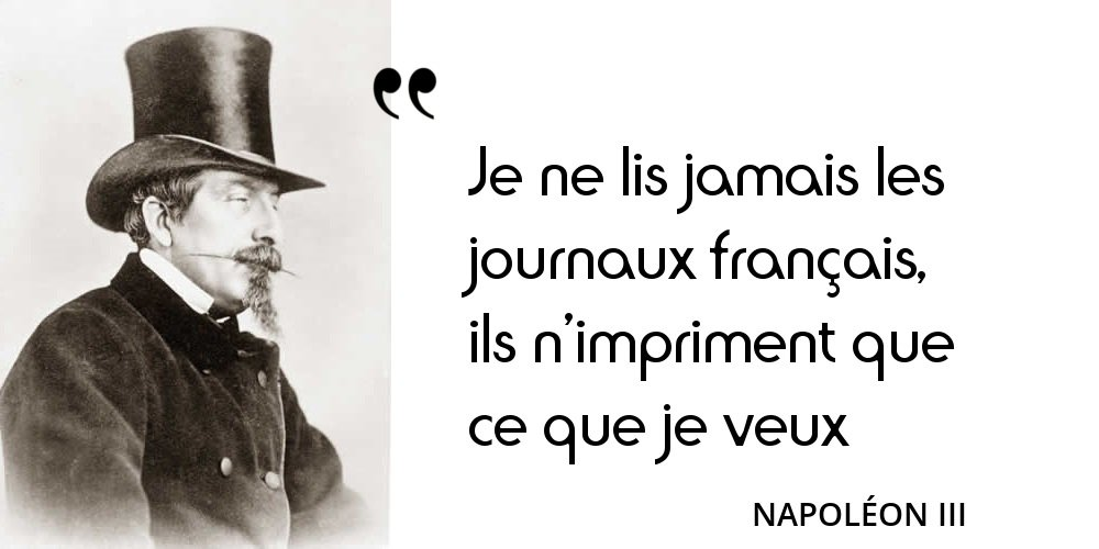 Vous avez aimé le cynisme et l&#39;humour de Napoléon III qui occupe la 3e place du classement  http:// bit.ly/Citation14févr ier &nbsp; …  #histoire <br>http://pic.twitter.com/LU4ImsMseo