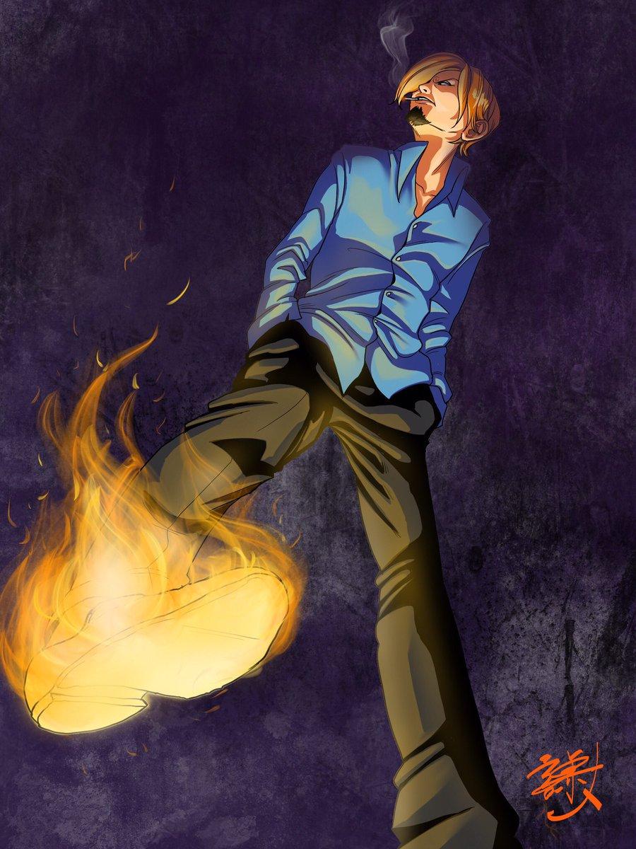 【ワンピース】火拳のサボかっこいい高 ...